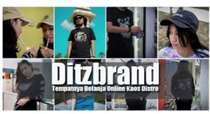 Ditzbrand - Kaos Distro Online