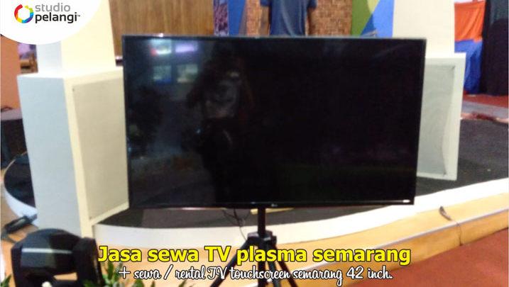 Jasa Sewa TV di Semarang